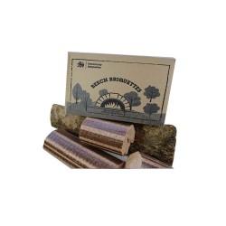 Briquettes de hêtre Normandy - 12 kg pour poêle et four à pizza