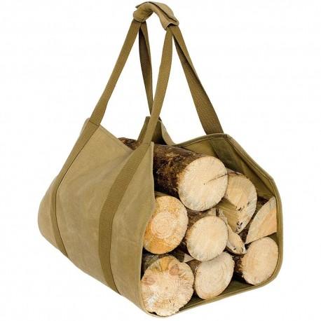 Case4Life lourd devoir résistant à l'eau toile bois de chauffage sac à bûches transporteur - Garantie à Vie