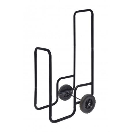Chariot à bûches charge maximale 80kg - Pneus en caoutchouc