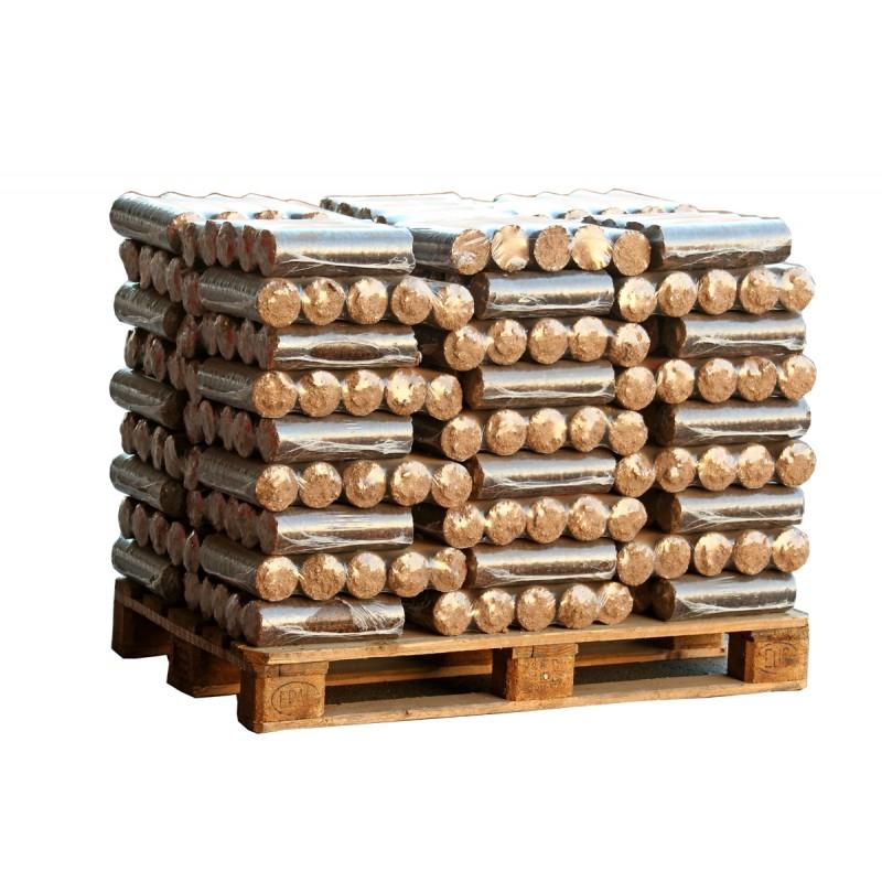Buches de bois densifi de nuit en 1 2 palette - Buche compressee avis ...