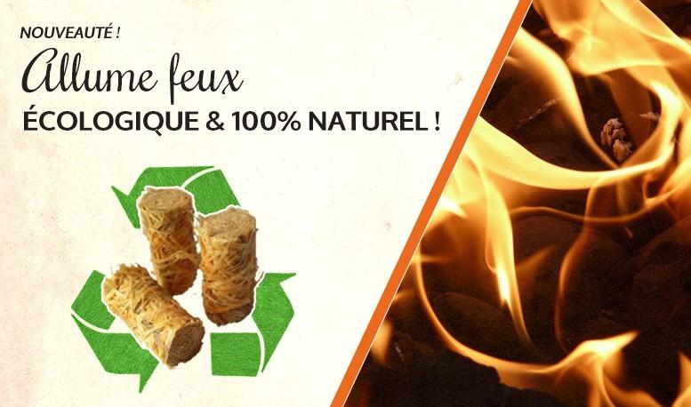 Allume feux Ecologique et 100% naturel